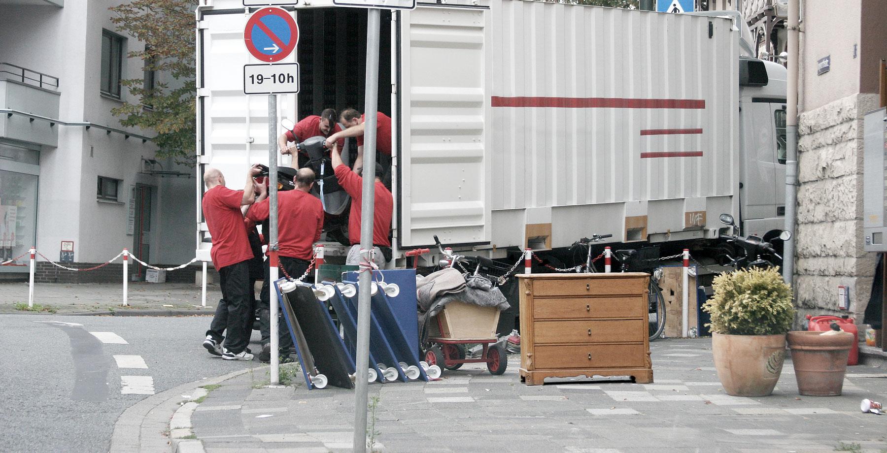 I.C.R. GmbH Hamburg, International Claims Recovery, Leistungen – Umzug